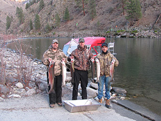 Steelhead fishing with Idaho's Big River Outfitters