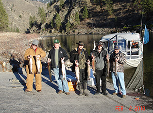Fishing on the Salmon River